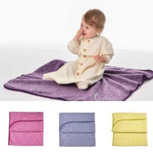 couverture bébé laine polaire bio Cosilana