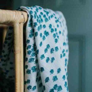 maxi lange coton biologique motif forêt
