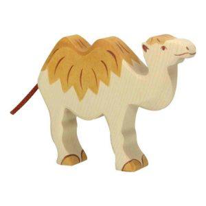 chameau en bois