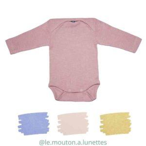 body-bebe-manches-longues-naissance-coton-laine-merinos-bio-soie-cosilana-ecologique
