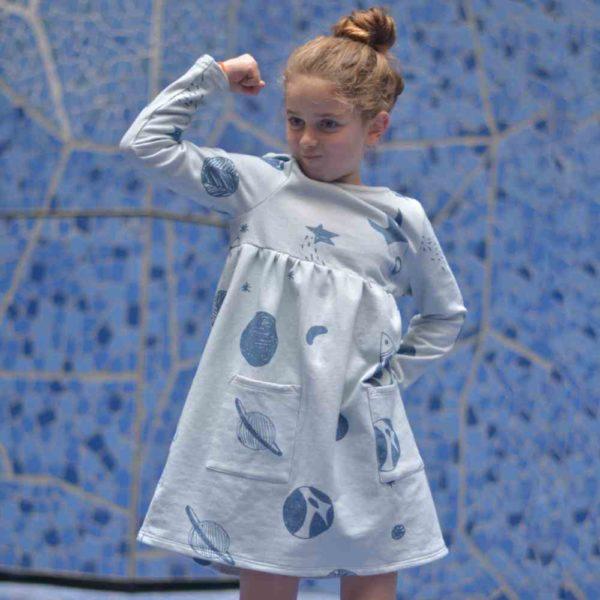 Pourquoi-Princesse-ROBE_coton-bio-fille-astronaute